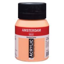 Amsterdam Standard Series Acrylique Pot 500 ml Jaune de Naples rouge 224