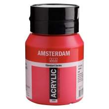 RAYART - Amsterdam Standard Series Acrylique Pot 500 ml Rose quinacridone 366