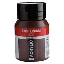 RAYART - Amsterdam Standard Series Acrylique Pot 500 ml Terre d'ombre brûlée 409