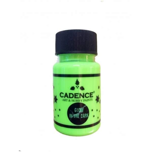 Glow in the Dark (phosphorescent) vert 50 ml Cadence