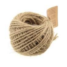 RAYART - Ficelle de jute à crocheter et autres loisirs créatifs - naturel X 35 M