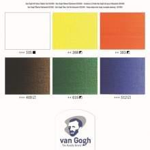 RAYART - Ensemble débutant couleurs à l'huile avec 6 couleurs en tubes de 20 ml