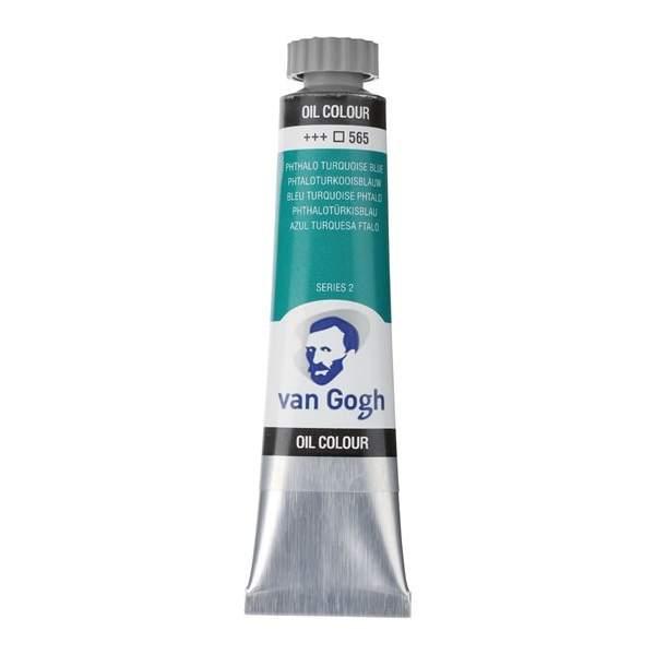 RAYART - Peinture a l'huile Van Gogh Bleu turquoise phthalo 565