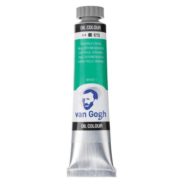 RAYART - Peinture a l'huile Van Gogh Vert émeraude 615