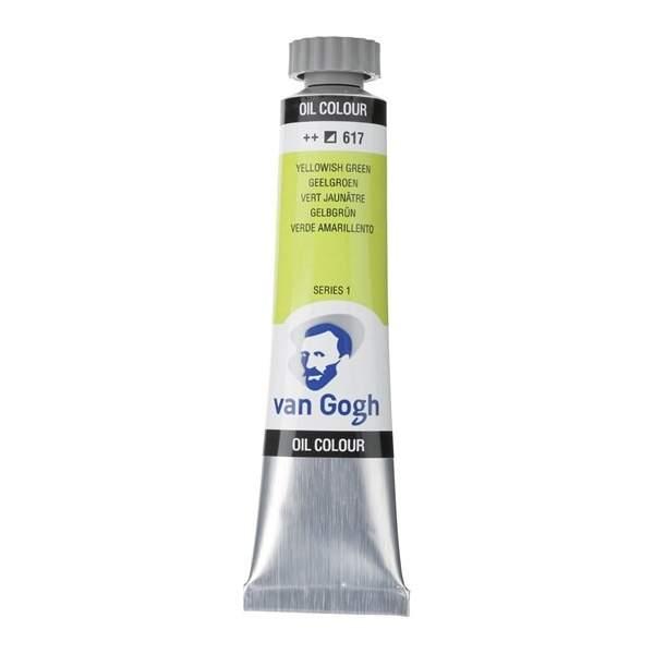 RAYART - Peinture a l'huile Van Gogh Vert jaunâtre 617