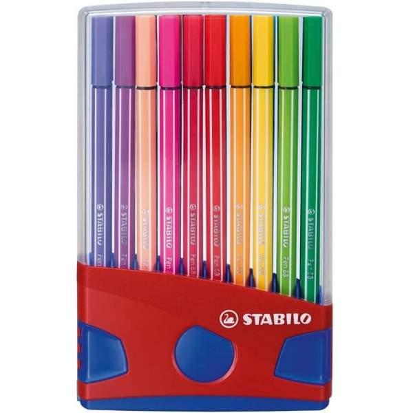RAYART - Feutre à dessin ColorParade pointe moyenne - STABILO Pen 68