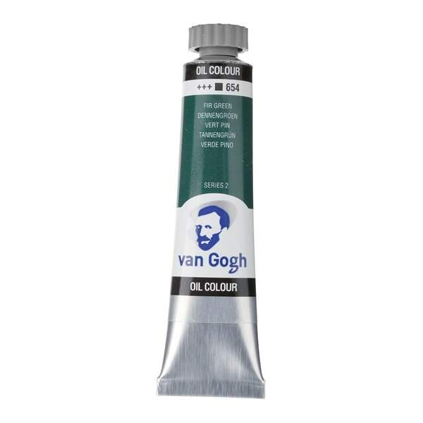RAYART - Peinture a l'huile Van Gogh Vert sapin 654