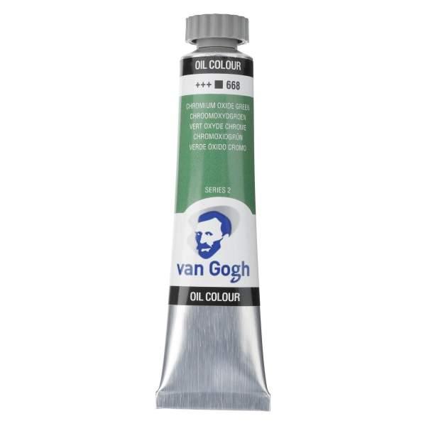 RAYART - Peinture a l'huile Van Gogh Vert oxyde de chrome 668
