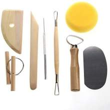 Set de 8 Pottery Tools