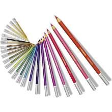 RAYART - Crayon de couleur pastels Boîte métal de 48 crayons  STABILO CarbOthello