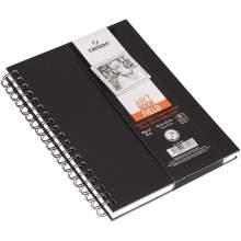 RAYART - Canson Art Book Field croquis fin 96 g/m² 90 feuilles  Blanc 18 x 25 cm