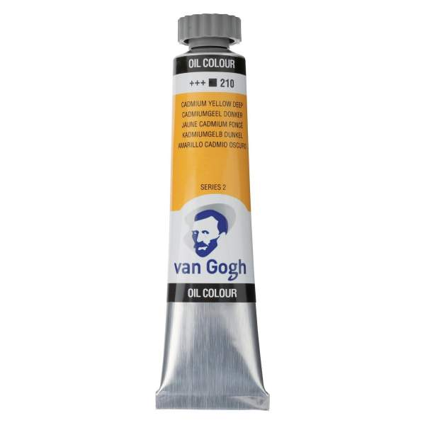 RAYART - Peinture a l'huile Van Gogh Jaune Cadmium Foncé 210