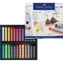 RAYART - Pastels tendres, boîte de 24 Faber castell
