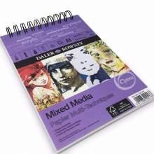 RAYART - Album Papier spirale Mixed Media A5 250 g 30 F Optima  Daler Rowney