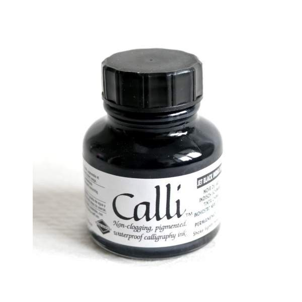 RAYART - Encre de calligraphie noir 29.5 ml Daler-Rowney Calli