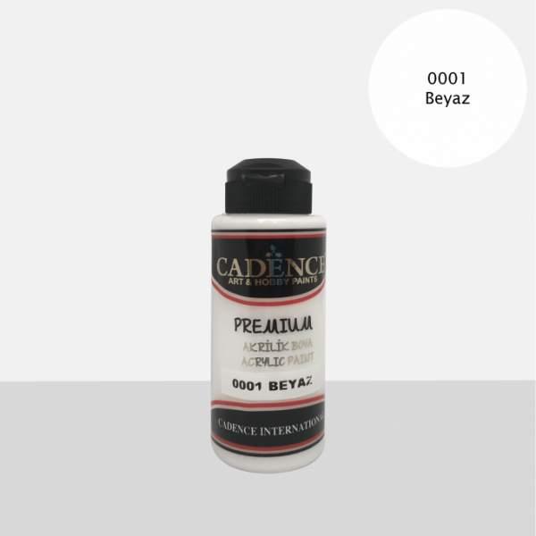 RAYART - Acrylique Premium 120ml Cadence 0001 Blanc