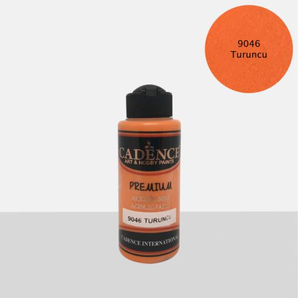 RAYART - Acrylique Premium 120ml Cadence 9046 Orange