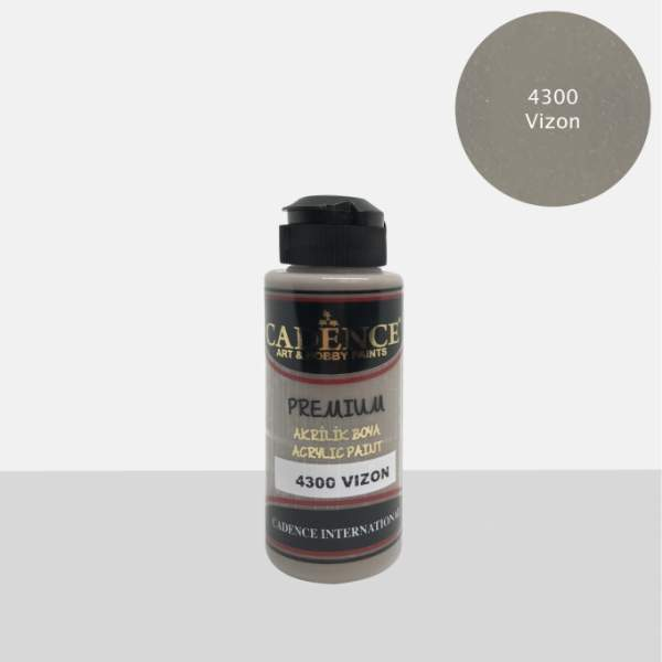 Acrylique Premium 120ml Cadence 4300 Vison