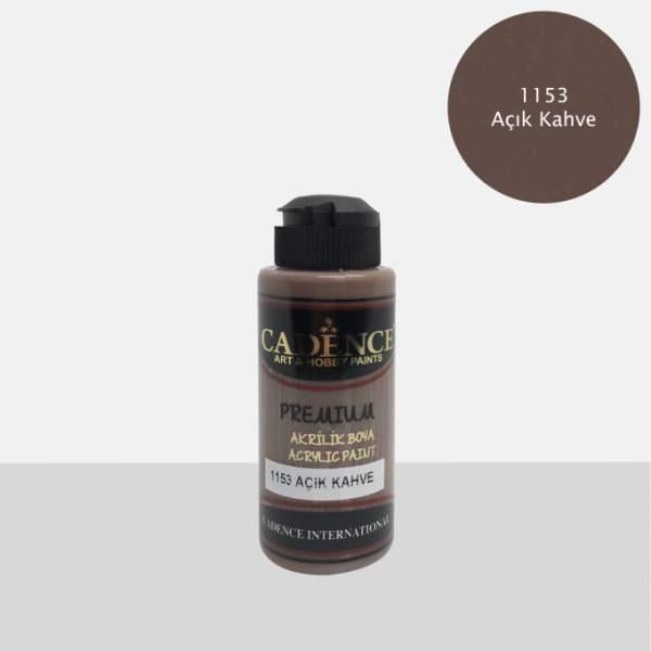 RAYART - Acrylique Premium 120ml Cadence 1153 Brun clair