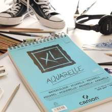 RAYART - Album Papier Aquarelle XL A3 300G/M² 30 Feuilles - Canson