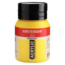 RAYART - Amsterdam Standard Series Acrylique Pot 500 ml Jaune azo clair 268