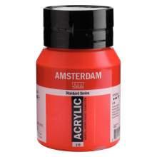 Amsterdam Standard Series Acrylique Pot 500 ml Rouge pyrrole 315