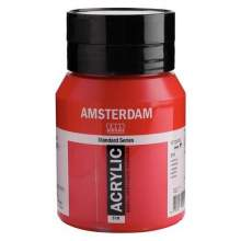 Amsterdam Standard Series Acrylique Pot 500 ml Carmin 318
