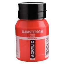 RAYART - Amsterdam Standard Series Acrylique Pot 500 ml Rouge naphtol moyen 396