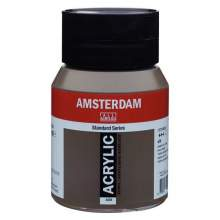 Amsterdam Standard Series Acrylique Pot 500 ml Terre d'ombre naturelle 408