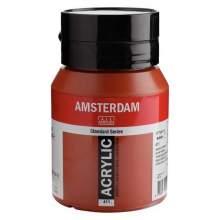 Amsterdam Standard Series Acrylique Pot 500 ml Terre de Sienne brûlée 411