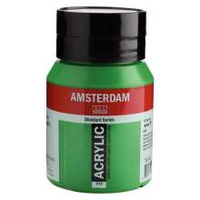 Amsterdam Standard Series Acrylique Pot 500 ml Vert permanent clair 618