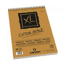 RAYART - Canson XL EXTRA-BLANC 120 feuilles 90G/M² Format A3 - CANSON