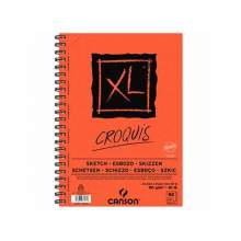 RAYART - Canson XL Croquis 90G/M²  60 Feuilles Format A5 - CANSON