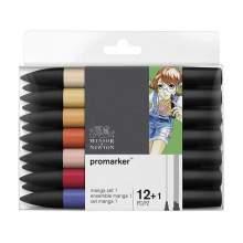 RAYART - Promarker 12+1 Manga set 1 - Winsor & Newton