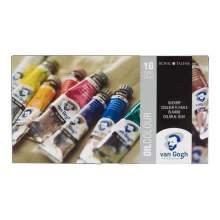RAYART - Ensemble de base couleurs à l'huile avec 10 * 20 ml VAN GOGH