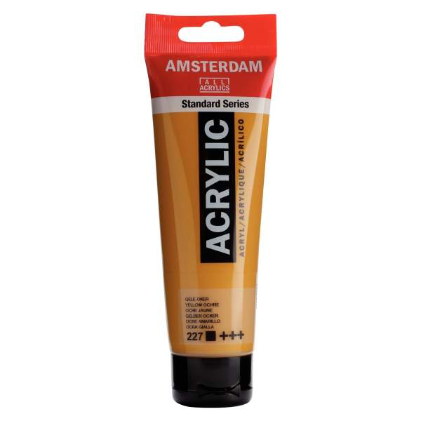 RAYART - Amsterdam Standard Series Acrylique Tube 120 ml Ocre jaune 227
