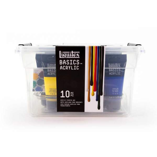 Liquitex Basics Acrylique - Boîte de départ en acrylique