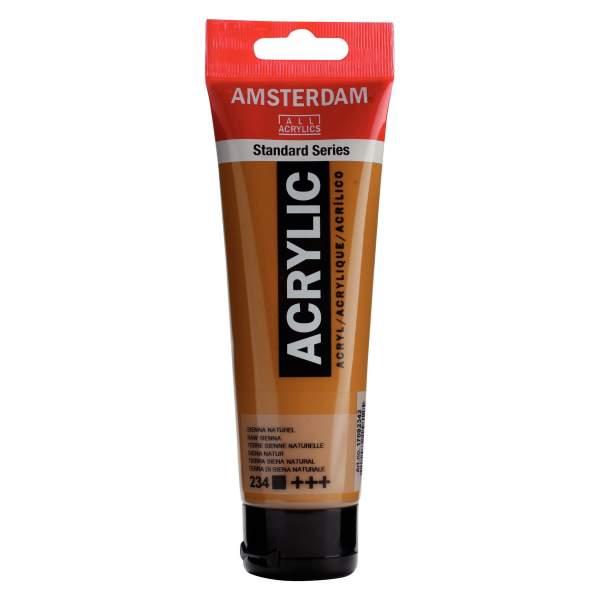 RAYART - Amsterdam Standard Series Acrylique Tube 120 ml Terre de Sienne naturelle 234