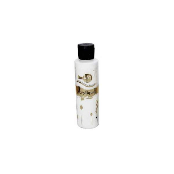 RAYART - Peinture Acrylique SmART deco - 130 ml - Blanc