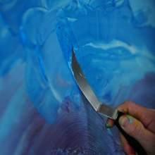 RAYART - Couteau Large N°1 - Liquitex