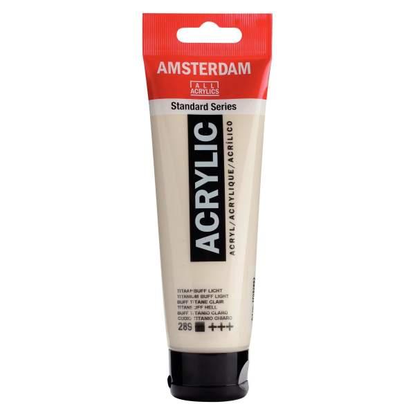 RAYART - Amsterdam Standard Series Acrylique Tube 120 ml Buff titane clair 289
