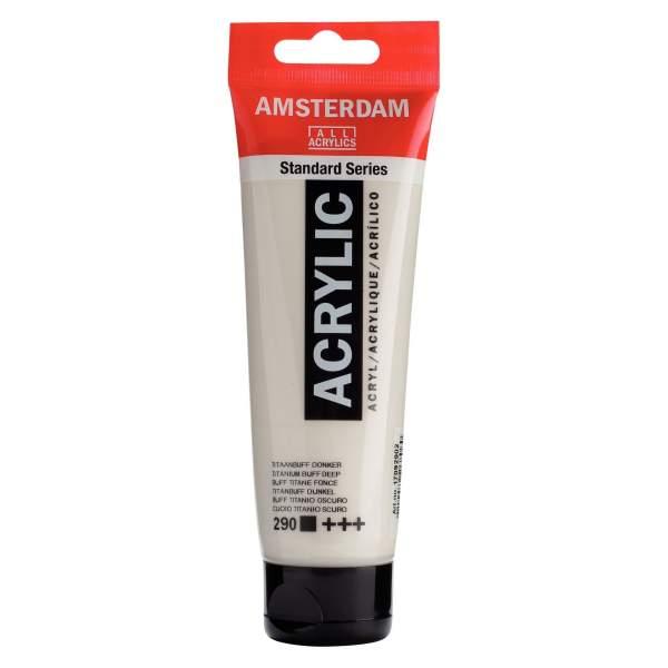 RAYART - Amsterdam Standard Series Acrylique Tube 120 ml Jaune Naples rouge clair 292