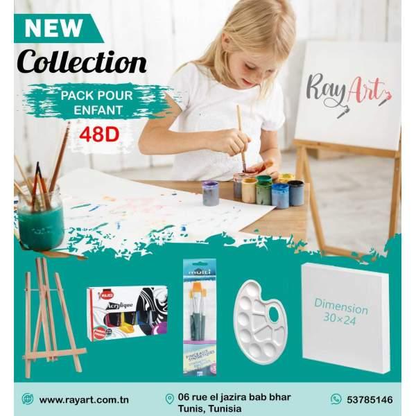 RAYART - Pack pour enfant spécial vacance