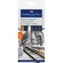 RAYART - Set de dessin Fusain - Faber Castell