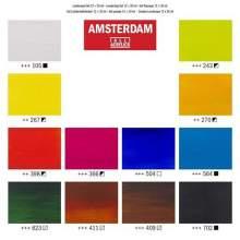 RAYART - Set d'acryliques série Standard 12 x 20 ml Amsterdam