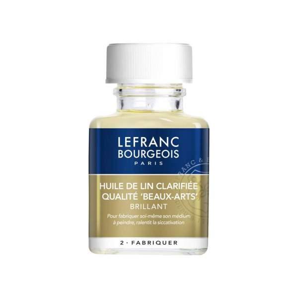 RAYART - Huile de lin clarifiée 75 ml Lefranc & bourgeois