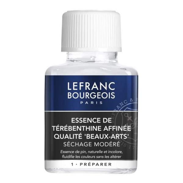 RAYART - Essence de Terebenthine Rectifiee 75 ml LEFRANC & BOURGEOIS