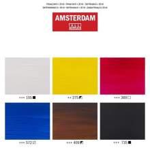 RAYART - Set Primaire d'acryliques série Standard 6 x 20 ml Amsterdam