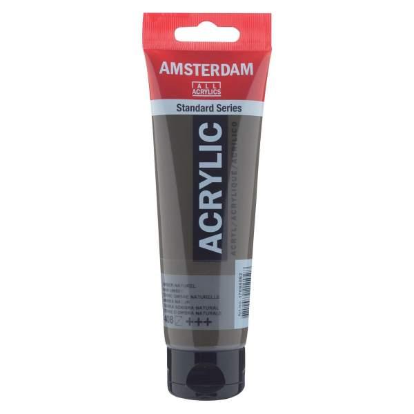 RAYART - Amsterdam Standard Series Acrylique Tube 120 ml Terre d'ombre naturelle 408