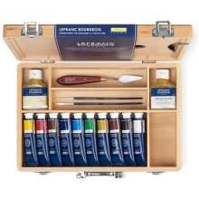 Coffret Peinture à l'Huile Fine 10X40ml Lefranc & Bourgeois